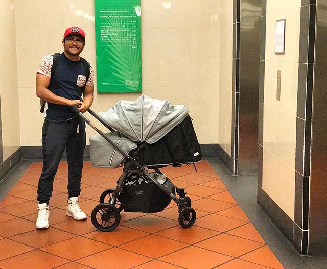 Shaheizy Sam & Syatilla Melvin Umum Nama Anak di Instagram