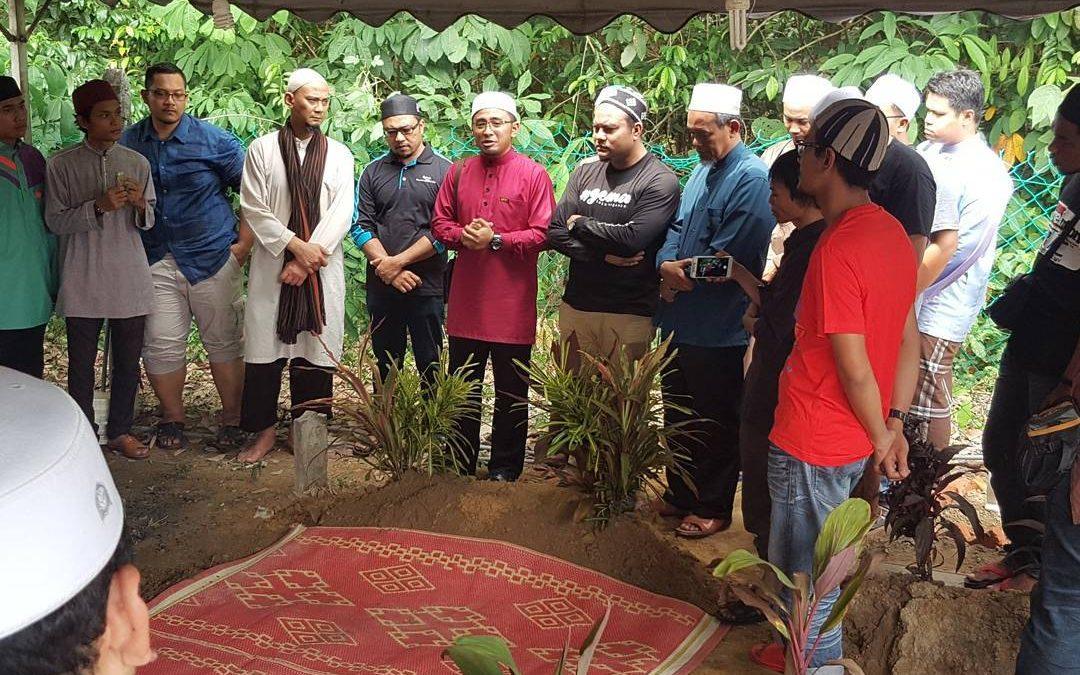 Jenazah Syahid Selamat Dikebumikan