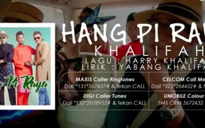 Lagu Popular Diubah Jadi Versi Raya