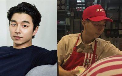 Pelayan Fast Food Viral Mirip Gong Yoo