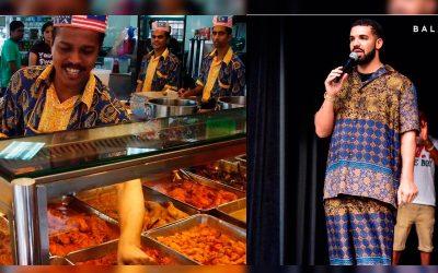 Baju Drake Disamakan Dengan Baju Pelita Nasi Kandar