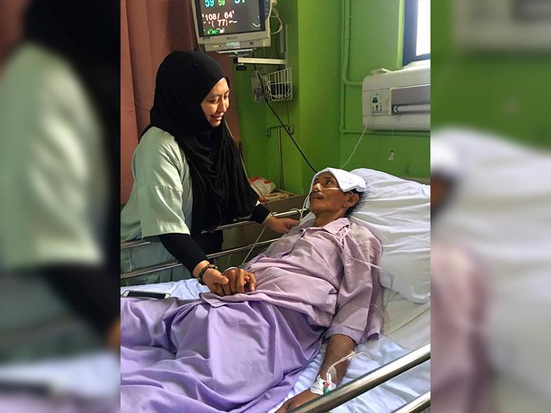 'Ketumbuhan Di Bawah Perut Merebak' – Julia, Isteri Saleem