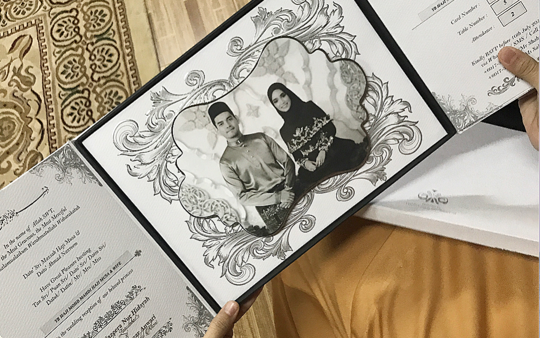Kad Kahwin Hitam Putih Ummi Nazeera Dapat pujian Netizen