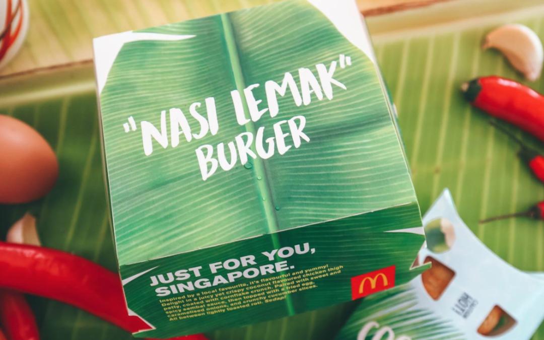Burger Nasi Lemak Trend Terbaru