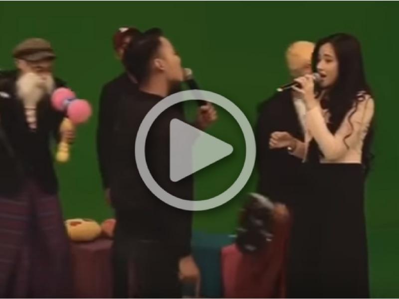 [VIDEO] Sweet..Hael Pegang Hidung Hanna Delisha Sambil Duet Lagu Jampi Jadi #TopTrending..