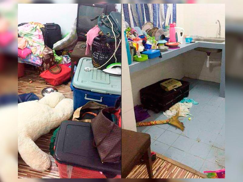Anak Dara Pengotor, Najis Kucing Bersepah Dalam Rumah