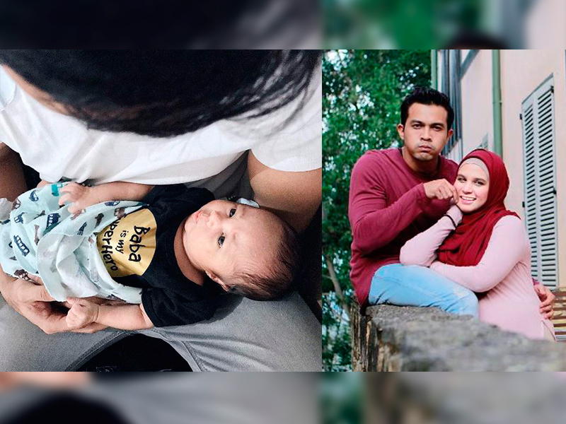 Isteri Saharul Ridzwan Jelaskan Nama Anaknya Yang Dikata 'Kuno'