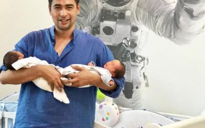 Dr Sheikh Muszaphar Beri Nama Anak, Sheikh Adam & Sheikh Noah