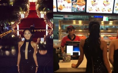 Nicole Scherzinger Pussycat Dolls Beli KFC Di Johor Bahru