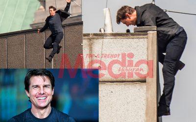 Aksi Stunt Gagal, Tom Cruise Retak Tulang Kaki