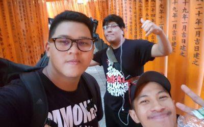 Memalukan, Remaja Malaysia Tunjuk Samseng Di Osaka!