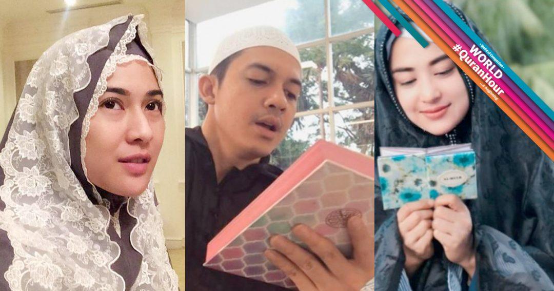5 Artis Indonesia Lancar Mengaji Al-Quran