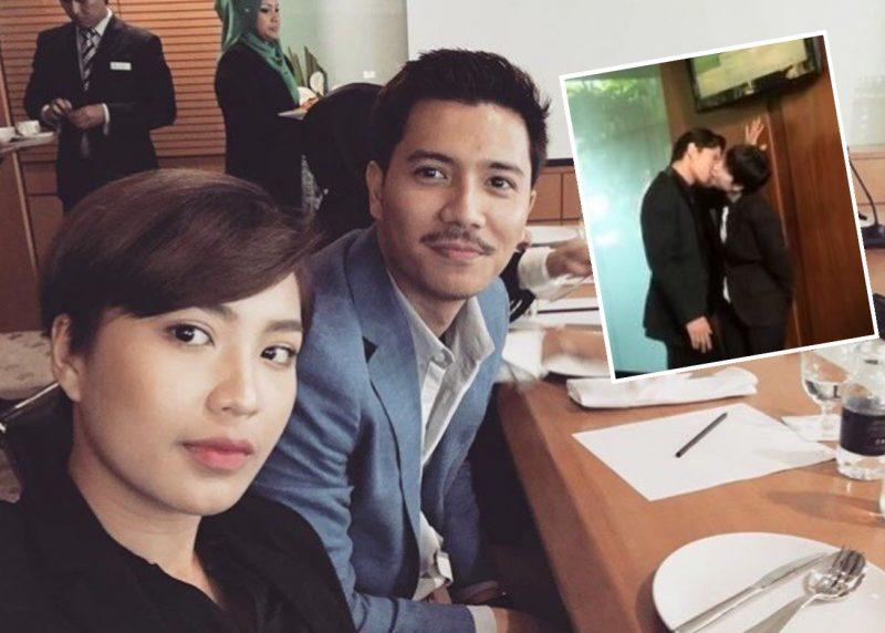 Adegan Fattah Amin Dan Janna Nick Cium Kena Kecam Teruk