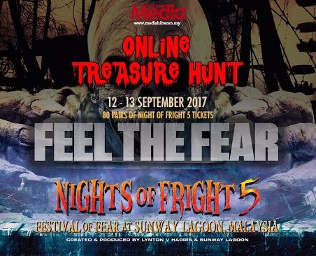 (UPDATE – BORANG PENYERTAAN) REBUT 80 Pasang Tiket Night Of Fright 5!