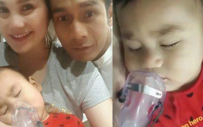 Anak Fahrin Ahmad Dibenarkan Keluar Hospital