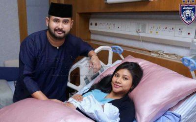 Sultan Johor Dikurniakan Cucu Kedua