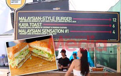 Burger Tepi Jalan Malaysia Kini Popular Di New York