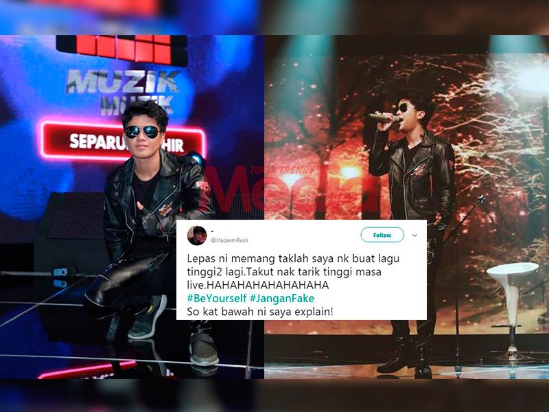 'Memang Tak La Saya Nak Buat Lagu Tinggi-tinggi Lagi' – Haqiem Rusli
