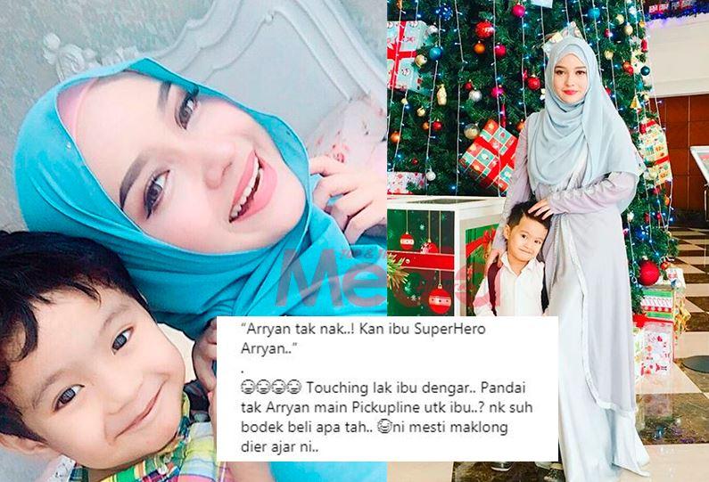 'Kan Ibu SuperHero Arryan' – Joy Revfa Touching Dengar Pick Up Line Anak