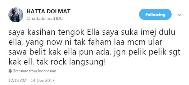 Image result for hatta dolmat kecam ella live with mpo