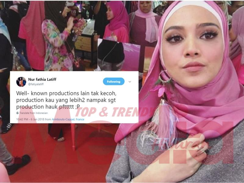 #MHSpeku: 'Well-known Productions Lain Tak Kecoh, Nampak Sangat Hauk' Fathia Luah Kekecewa Di Twitter?