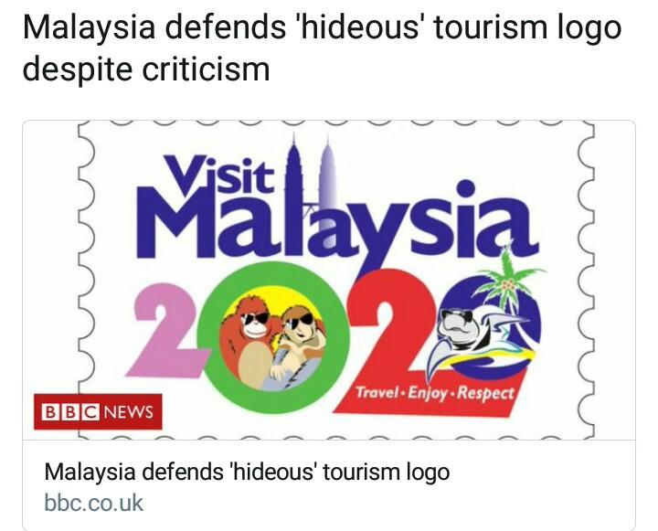 Kerana Logo Tourism, Malaysia Dikecam Kerana Tidak Support LGBT