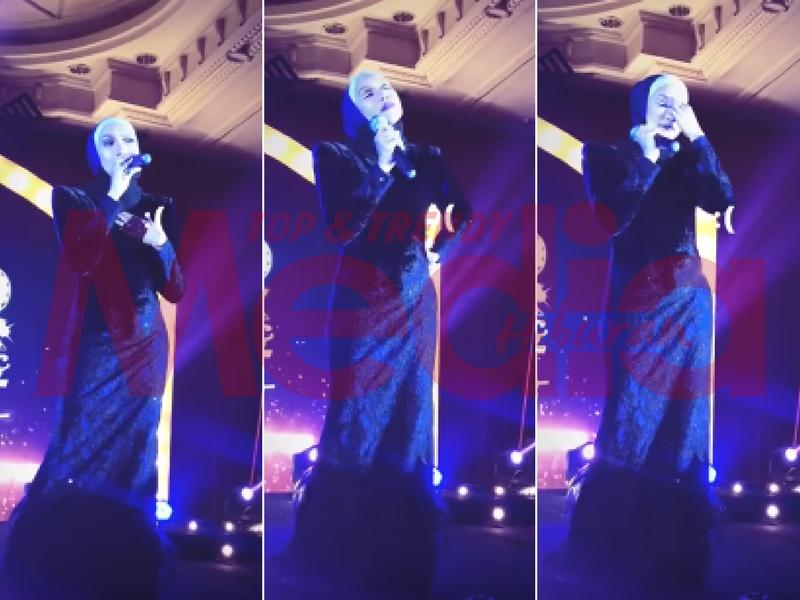 [VIDEO] Gagal Menahan Sebak, Ziana Zain Menangis Ketika Nyanyi Lagu Puncak Kasih!