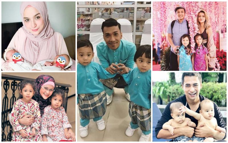 10 Selebriti Malaysia Yang Ada Anak Kembar!