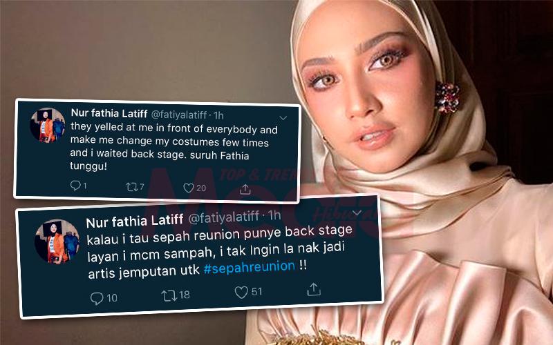 Dilayan Macam Sampah, Fathia Latiff Bongkar Situasi Di Belakang Pentas 'Sepahtu Reunion'