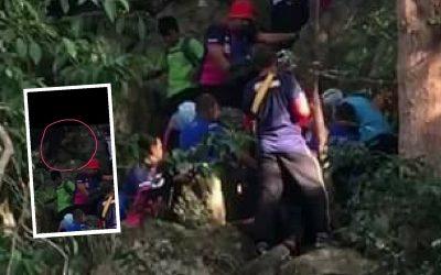 [VIDEO] Meremang Pengunjung Bukit Batu Putih Histeria, Menjerit-jerit, Netizen Nampak Kelibat!