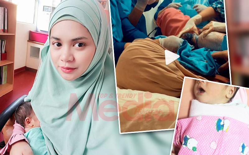 [VIDEO] Yatt Hamzah Kongsi Momen Lahirkan Anak Ketiganya, Suci Hayfaa Medina