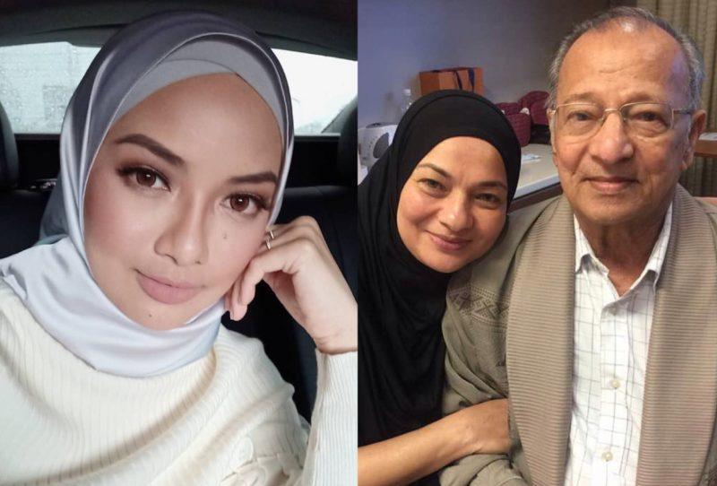 Netizen Teruja Tengok Wajah Atuk Neelofa Iras Tun M
