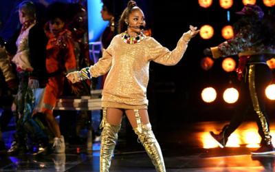 """[GAMBAR] """"She's Back After 9 Years!"""" – Janet Jackson Kekal Energetik Meski Beranak Satu, Bergelar Janda Kepada Jutawan Qatar!"""
