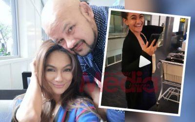 'Hahaha Funniest Husband In The World' Netizen Terhibur Tengok Harith Iskander Kenakan Isteri Di Airport