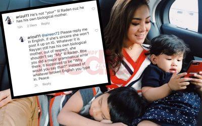 Mawar Rashid Bidas Komen Netizen Tentang Anak Tiri