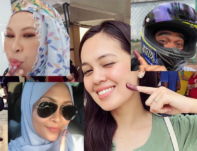 """Saper G Ngundi?"" – 10 Kapsyen Mencuit Hati Selebriti Sempena PRU14 Kali Ini, Wajib Tunjuk Jari!"