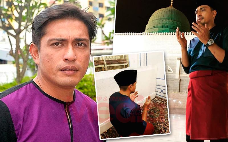 Dituduh 'Lalang Detected', Adi Putra Muat Naik Gambar Sambil Berdoa Di Raudhah Masjid Nabawi