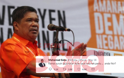 'We Love The Way You Are' – Ini Respon Netizen Bila Mat Sabu Tanya Perlu Ke Tukar Penampilan…