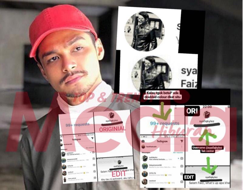 [Update] Paparan Viral 'Rayuan' Syafiq Kyle Pada Faizi Khairudin Di IG Macam Edit, Didakwa Palsu!