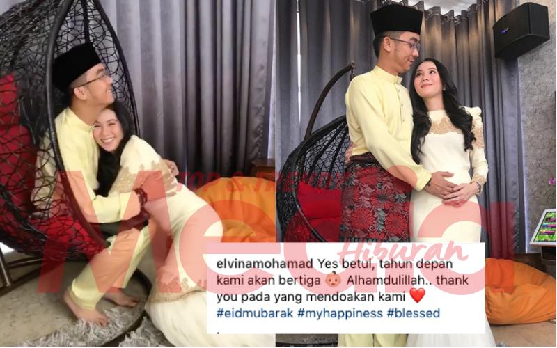 """""""Tahun Depan Kami Akan Bertiga"""" – Elvina Kini Hamil Anak Pertama"""