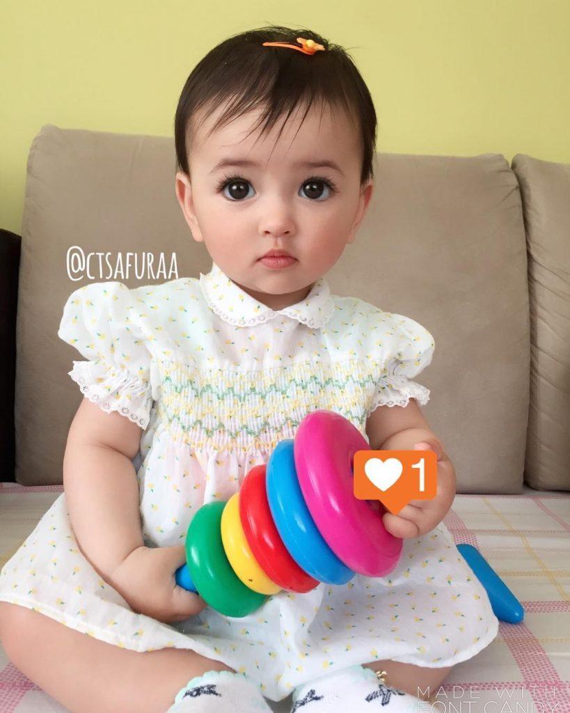 dhuhaa sophea bayi comel seperti anak patung   media hiburan