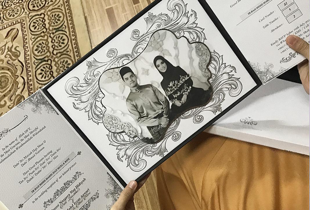 Design Kad Kahwin Artis Berbagai Bekalan Rumah