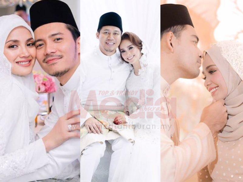 Masjid Selamat Dibina, Ini Dia 5 Perkahwinan Selebriti Popular Tahun 2017