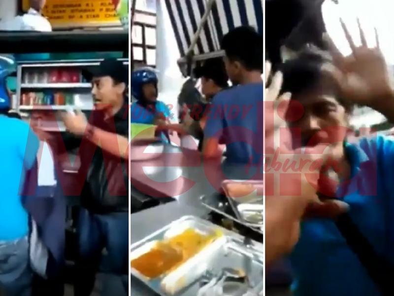 [VIDEO] Tindakan Berani Orang Awam Lindungi Wanita Mangsa Pukul, Dipuji!