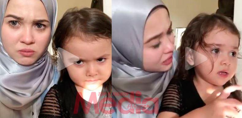 [VIDEO] Comel Teruk! Peminat Seronok Tengok Emma Maembong Ajar Anak Buah Marah