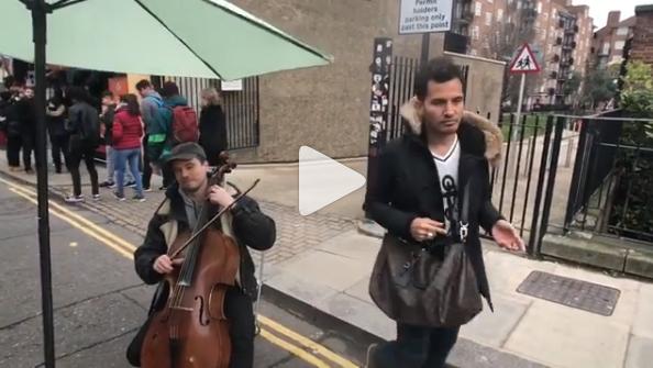 [VIDEO] Aliff Syukri 'Dihalau' Pemuzik Jalanan Di London? Netizen Berang Aliff Tidak Beradab?