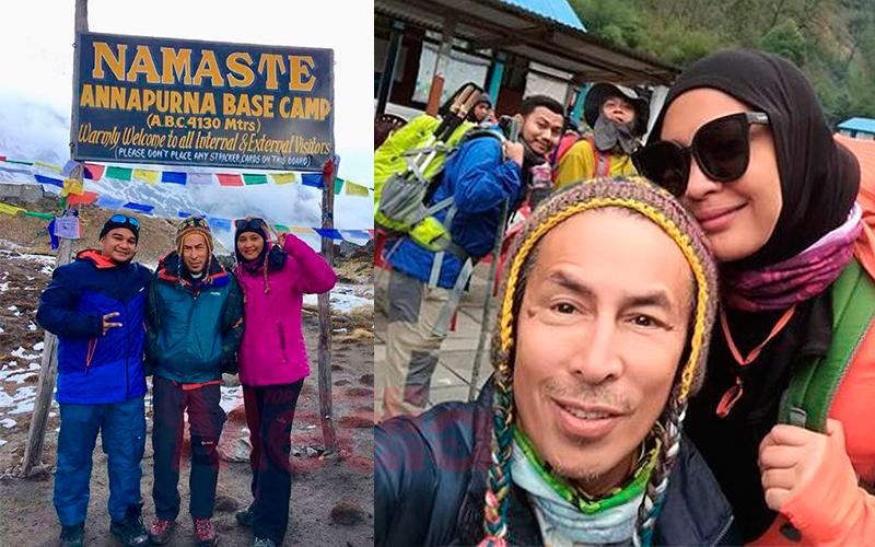 [GAMBAR] Usia 60 Tahun Bukan Penghalang Amy Search Daki Gunung Annapurna