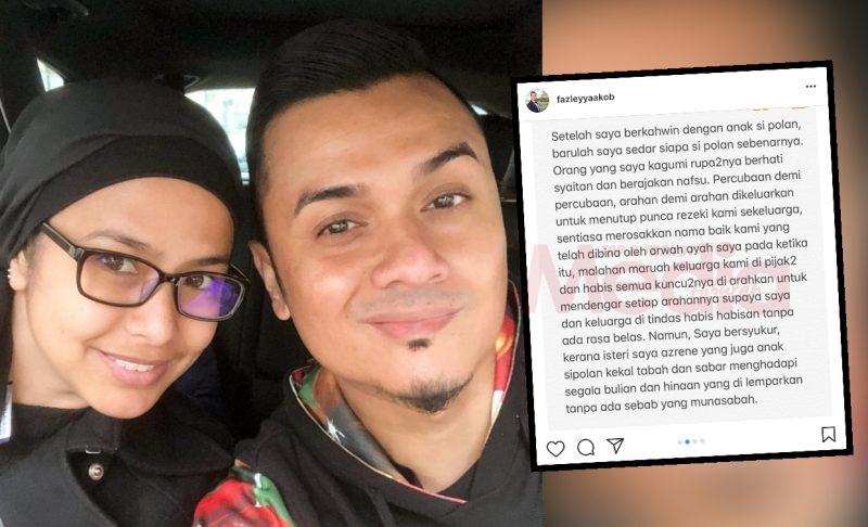 'Orang Yang Saya Kagumi Rupanya Berhati Syaitan Dan Berajakan Nafsu' – Akhirnya Fazley Yaakob Berani Buka Mulut!
