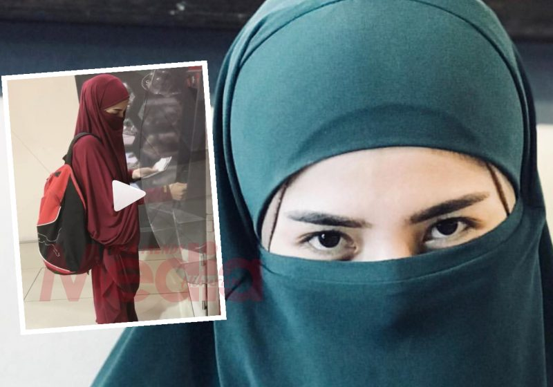 Wow! Sejuk Hati Tengok Ardell Aryana Pakai Niqab!