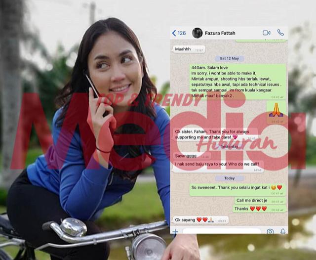 """Sejak I Jadi Ibu Tunggal Ni, Faz Tak Pernah Lupa Nak Hantar Baju Raya…""- Dedikasi Fasha Sandha Buat Fazura"